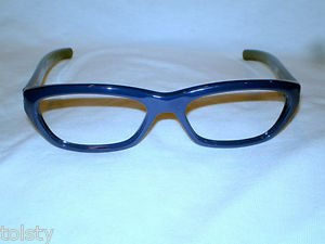 NEW  EYEGLASSES ROMEO GIGLI  DARK BLUE 53-20-135  MOD.RG165  MADE IN ITALY