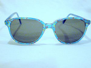 Vintage NEW FRAME ON THE BLOCK SMALL CUTIE  SUNGLASSES  MOD.PAULA  SPRING HINGES