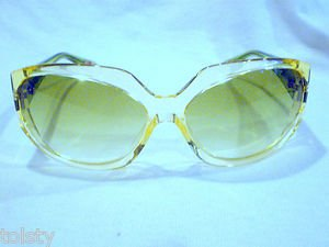 PAUL SMITH PS-356 CRYSTAL CLEAR GREEN DMC  SUNGLASSES NEW AUTHENTIC  61-14-125