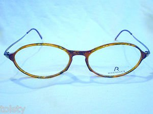 NEW RODENSTOCK  EYEGLASSES TORTOISE BRONZE MOD.R5133 49-18-140 UNIQUE