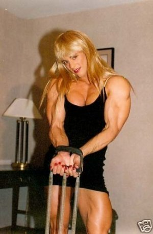 Female Bodybuilder Denise Rutkowski RM-12 DVD