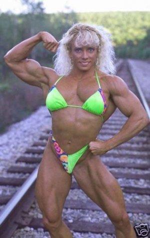 Female Bodybuilder Debbie Muggli WPW-253 DVD or VHS