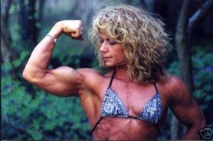Female Bodybuilder Beth Roberts WPW-416 DVD or VHS