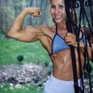 Female Bodybuilder Gina Farnsworth WPW-447 DVD or VHS