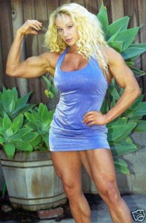 Female Bodybuilder Melissa Coates WPW-515 DVD or VHS