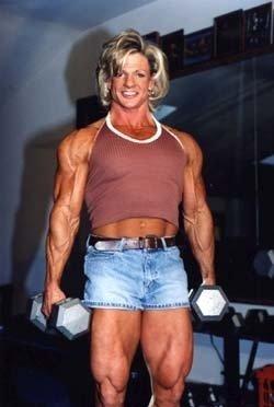 Female Bodybuilder Sue Schepple Wpw 467 Dvd Or Vhs