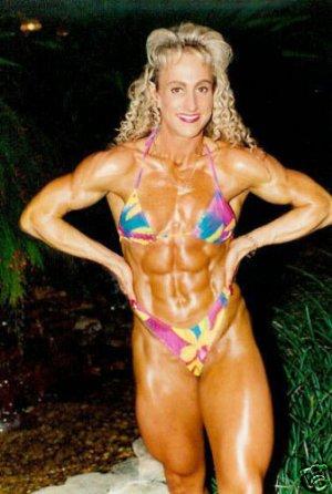 Female Bodybuilder Diana Dahn RM-18 DVD