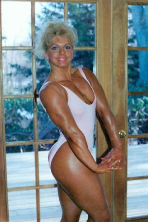Female Bodybuilder Cyndie Meintzer  WPW-108 DVD