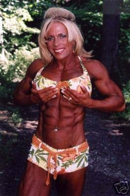 Female Bodybuilder Vicki Nixon WPW-715 DVD or VHS