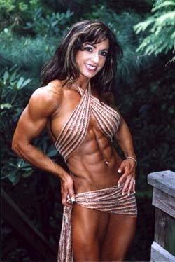 Female Bodybuilder Karen Zaremba WPW-674 DVD or VHS