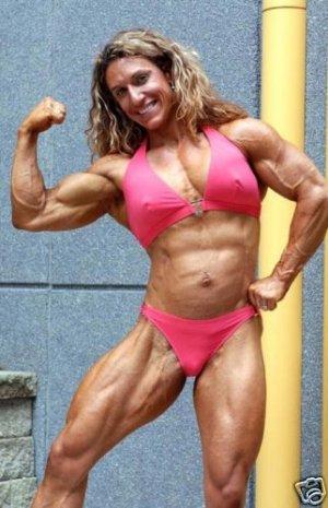 Female Bodybuilder Stamper & Sass WPW-677 DVD or VHS