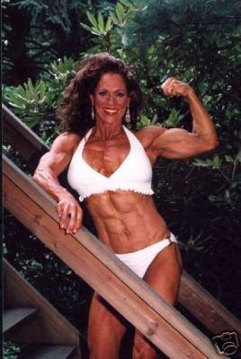 Female Bodybuilder Theresa Hendricks WPW-709 DVD or VHS