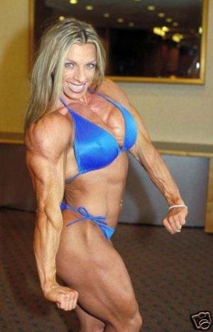 Female Bodybuilder Debi Laszewski WPW-660 DVD or VHS
