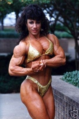 Female Bodybuilder Annie Rivieccio WPW-292 DVD or VHS