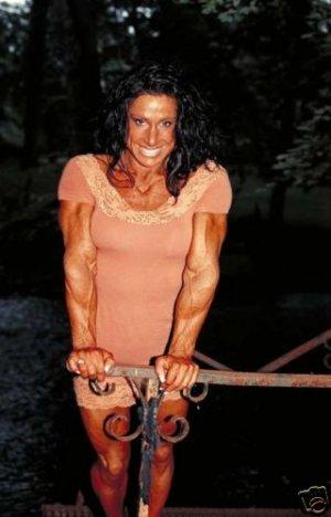 Female Bodybuilder Debbie Bramwell WPW-685 DVD or VHS
