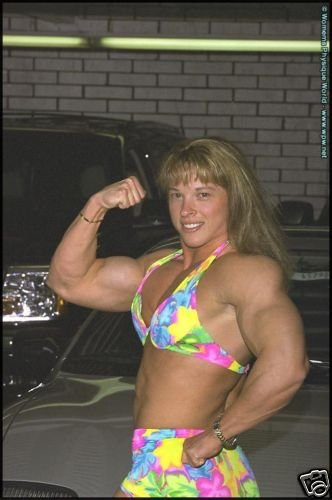 Female Bodybuilder Lisa Bavington WPW-440 DVD or VHS