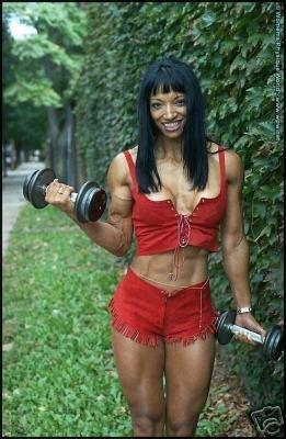 Female Bodybuilders Moura & Stivalo WPW-465 DVD or VHS