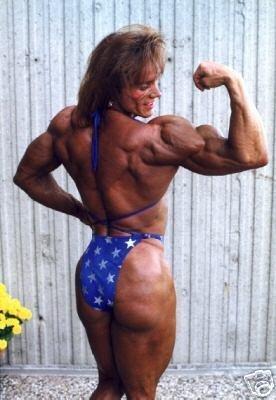Female Bodybuilder Sharon Robelle WPW-340 DVD or VHS