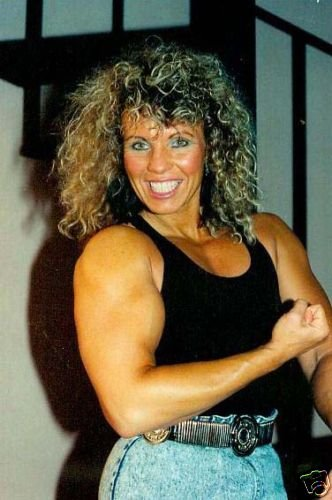Female Bodybuilder Mona Krause WPW-83 DVD