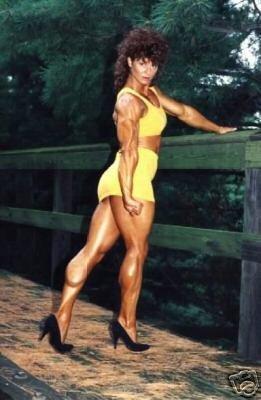 Female Bodybuilder Joanne McCartney WPW-176 DVD or VHS