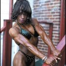 Female Bodybuilder Kim Harris RM-166 DVD