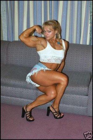 Female Bodybuilder Tami Wooden RM-111 DVD