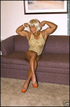 Female Bodybuilder Leilani RM-99 DVD