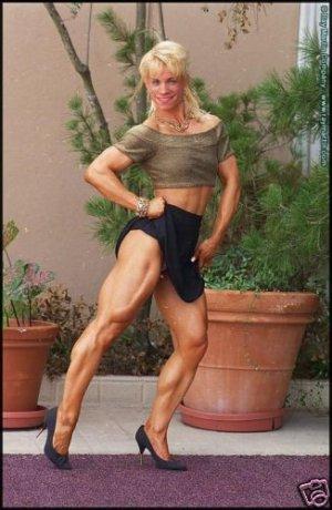 Female Bodybuilder Caron Hospedales RM-89 DVD