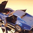 Carousel 1 1968 Corvette L-88 Coupe, Lemans Blue 1/18 Die-Cast Car