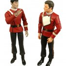 Star Trek TWOK Death of Spock 2-pk Kirk & Spock Figure