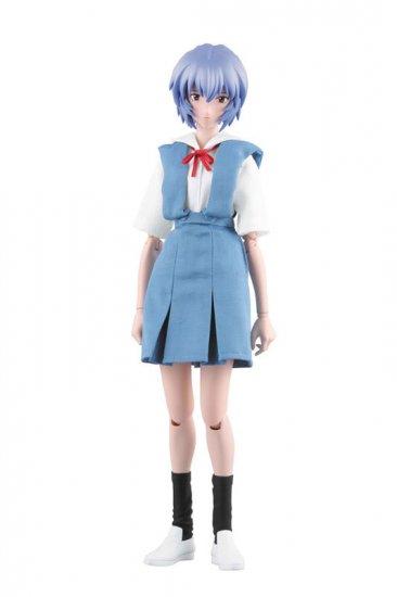 Medicom RAH NGE Rei Ayanami School Uniform Version 12 inch Figure