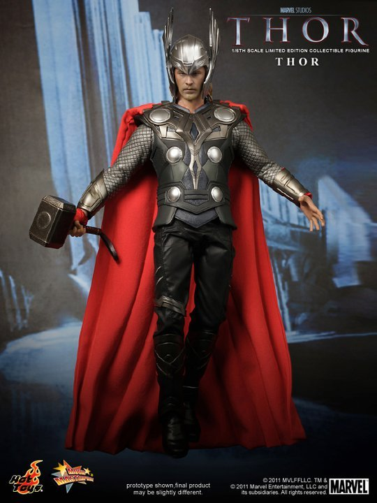 Hot Toys Thor 12 inch Collectible Figure
