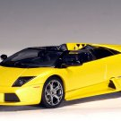 AutoArt 1/43 Lamborghini Murcielago Concept Car Barchetta Metallic Yellow Diecast