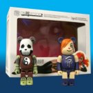 Medicom Bearbrick Dawn and Death 2 pack 2007 SDCC Exclusive