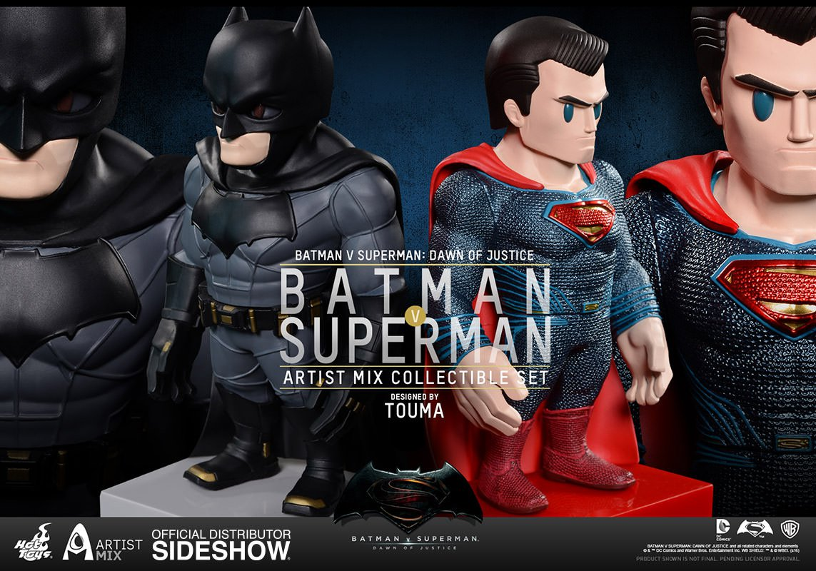 Batman v Superman Dawn Of Justice Artist Mix Figure Set Toumart Design