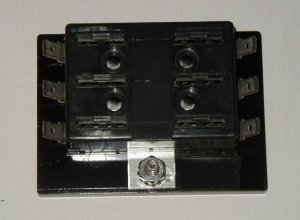 6 Fuse Panel without Grounds - uses ATO/ATC Fuses
