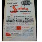 GM POWER STEERING AD 1956