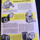 WHAT KIND OF CAMERA FOR YOU 1955