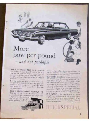 BUICK SPECIAL 1961 AD