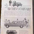 CHEVY CORVAIR 1961 AD