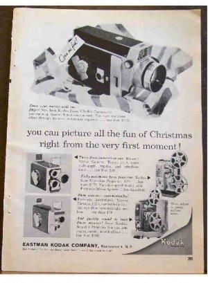 KODAK MOVIE 1960 CHRISTMAS AD