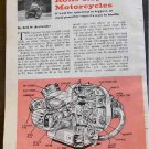 BMW ROLLS-ROYCE OF MOTORCYCLES ARTICLE 1960