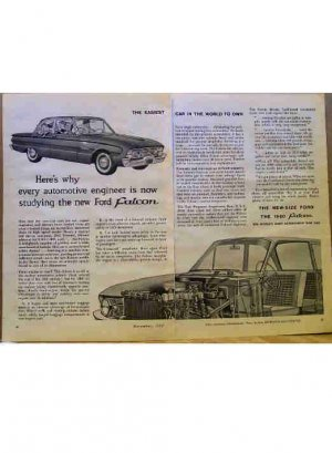FORD FALCON AD 1960