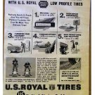 US ROYAL TIRES AD 1959