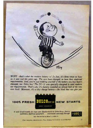 DELCO AD 1959