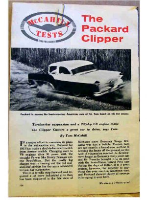 PACKARD CLIPPER ARTICLE 1955