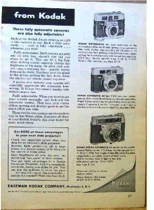 KODAK AD 1961