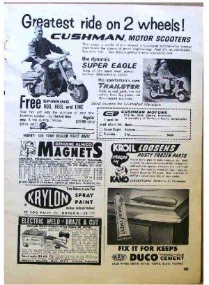CUSHMAN AD 1961