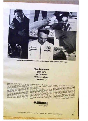 AUTOLITE AD 1965