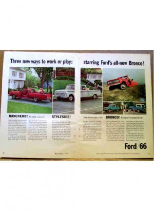 FORD AD 1966